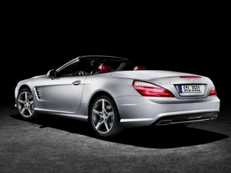 Обзор Mercedes-Benz SL-класса