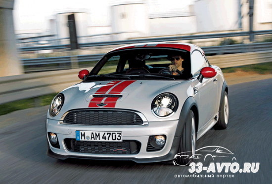 Британский - MINI Coupe 2012